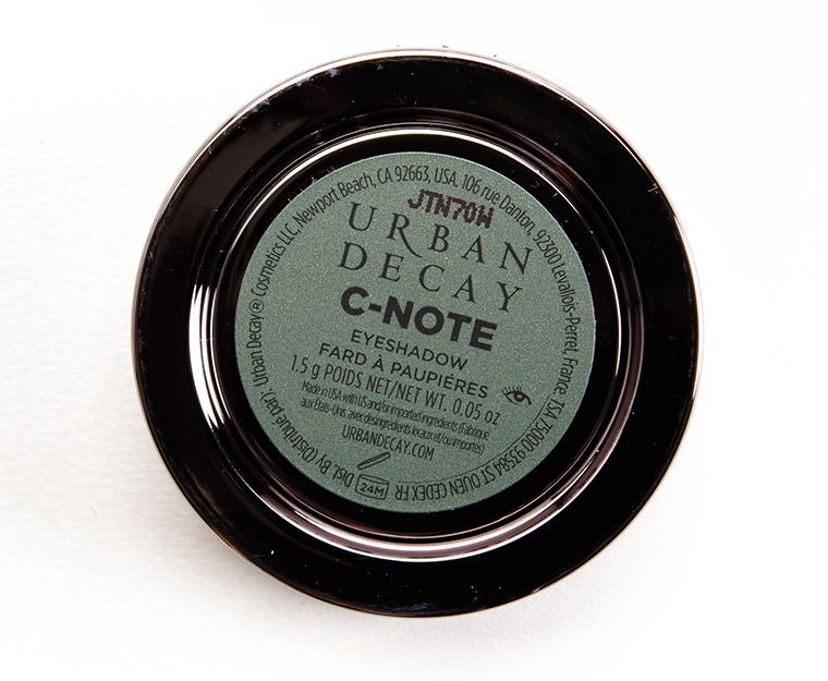 Urban Decay C-Note Eyeshadow