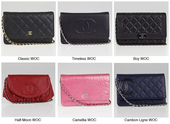 8e88eab2fae194 Chanel WOC Guide | Girlie stuff! | Chanel woc, Chanel purse, Chanel