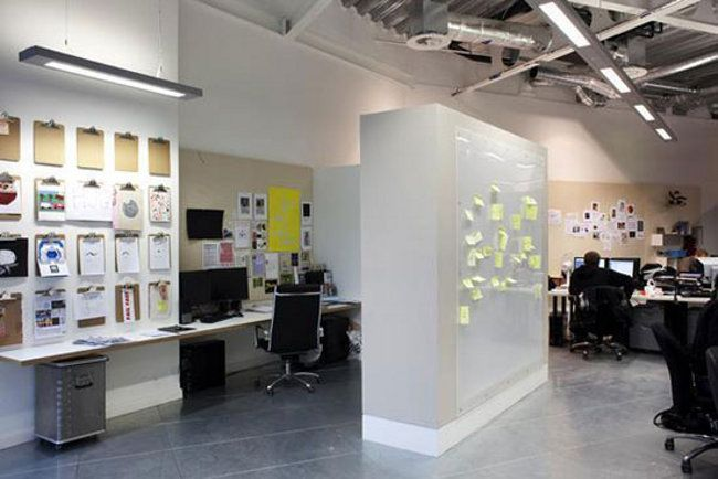 Showcase of inspiring web design agency offices design for Space design agency