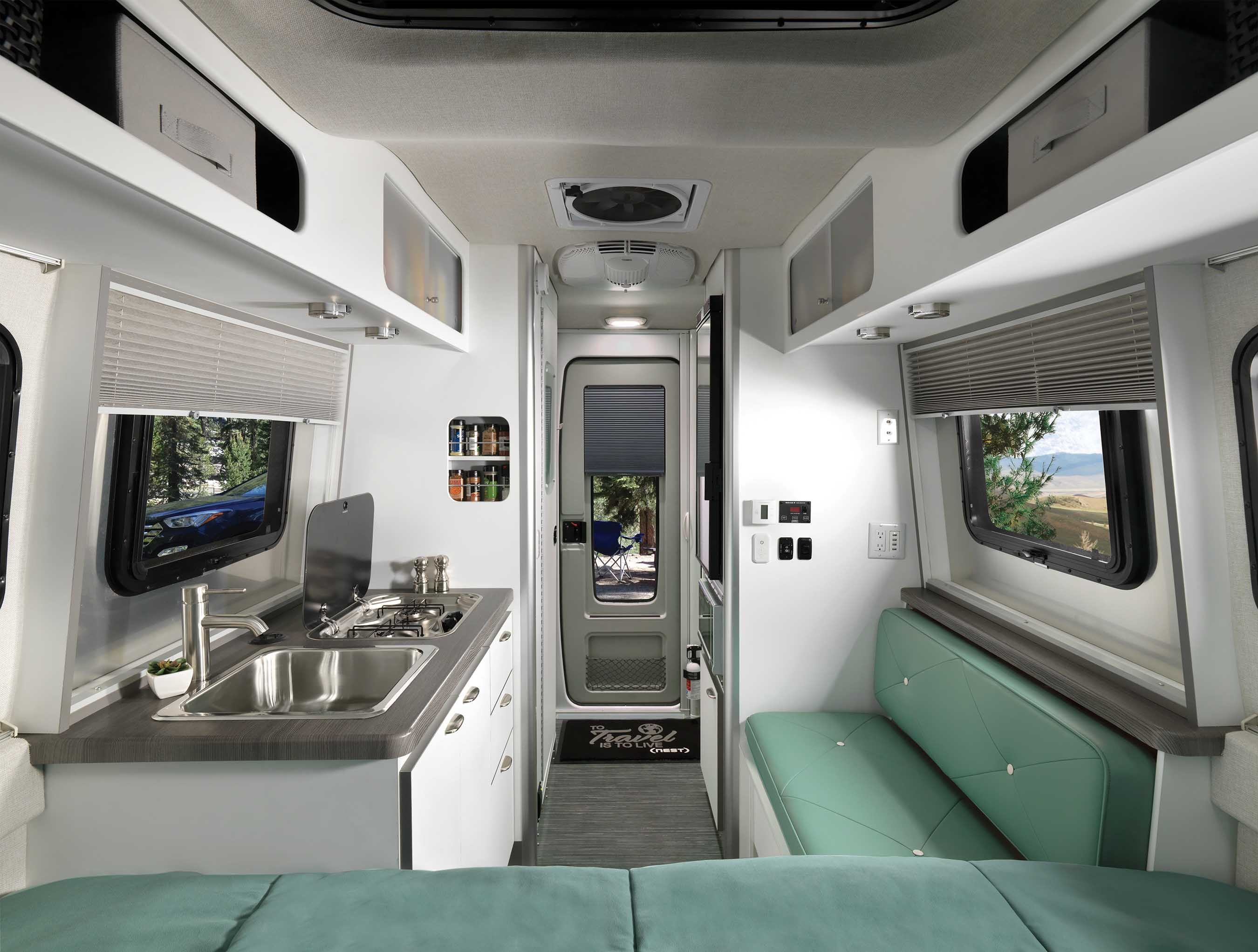 2020 Airstream Nest By Airstream With Images Rv Interior