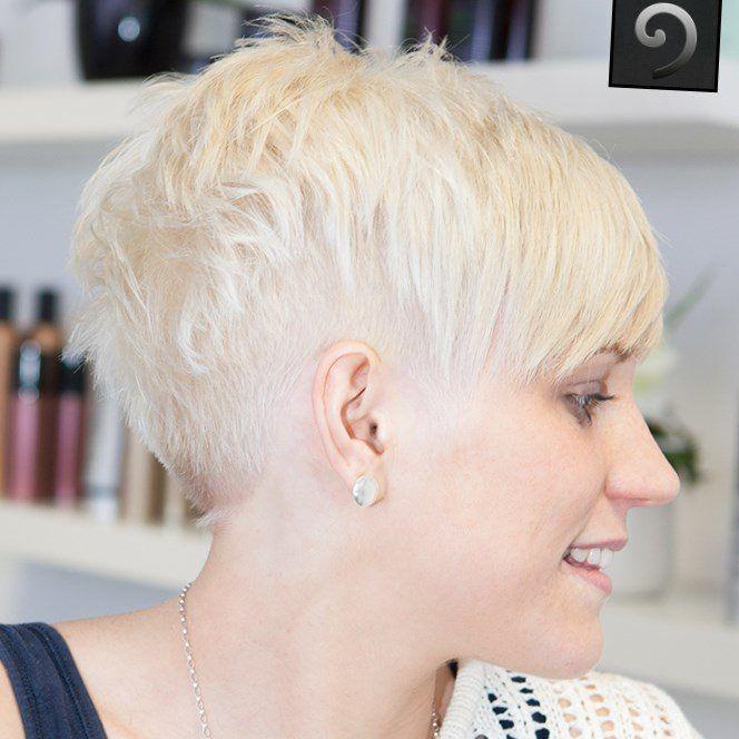 Frisuren kurz blond undercut