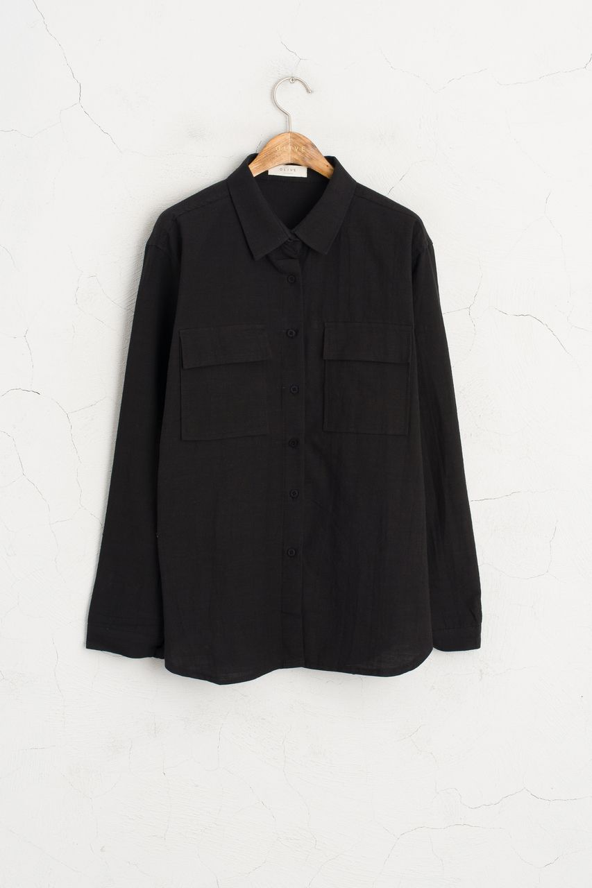 Olive - Two Pocket Shirt Style Jacket, Black, £55.00 (http://www.oliveclothing.com/p-oliveunique-20160809-003-black-two-pocket-shirt-style-jacket-black)