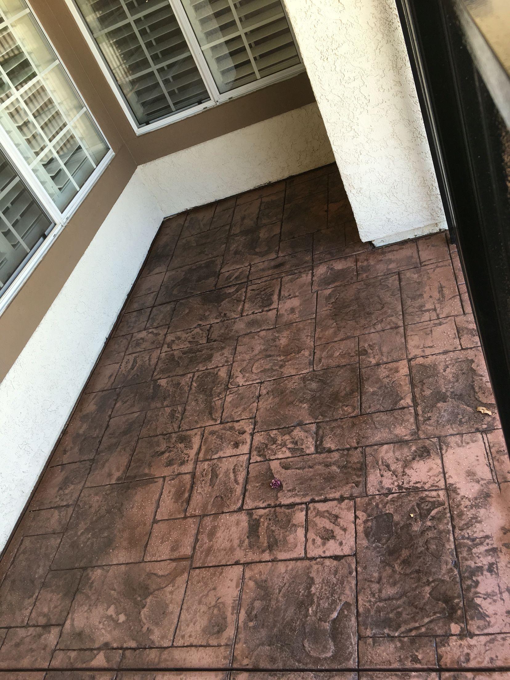Stamped Concrete Ortiz 661 547 1013 Rancho Vista Ca