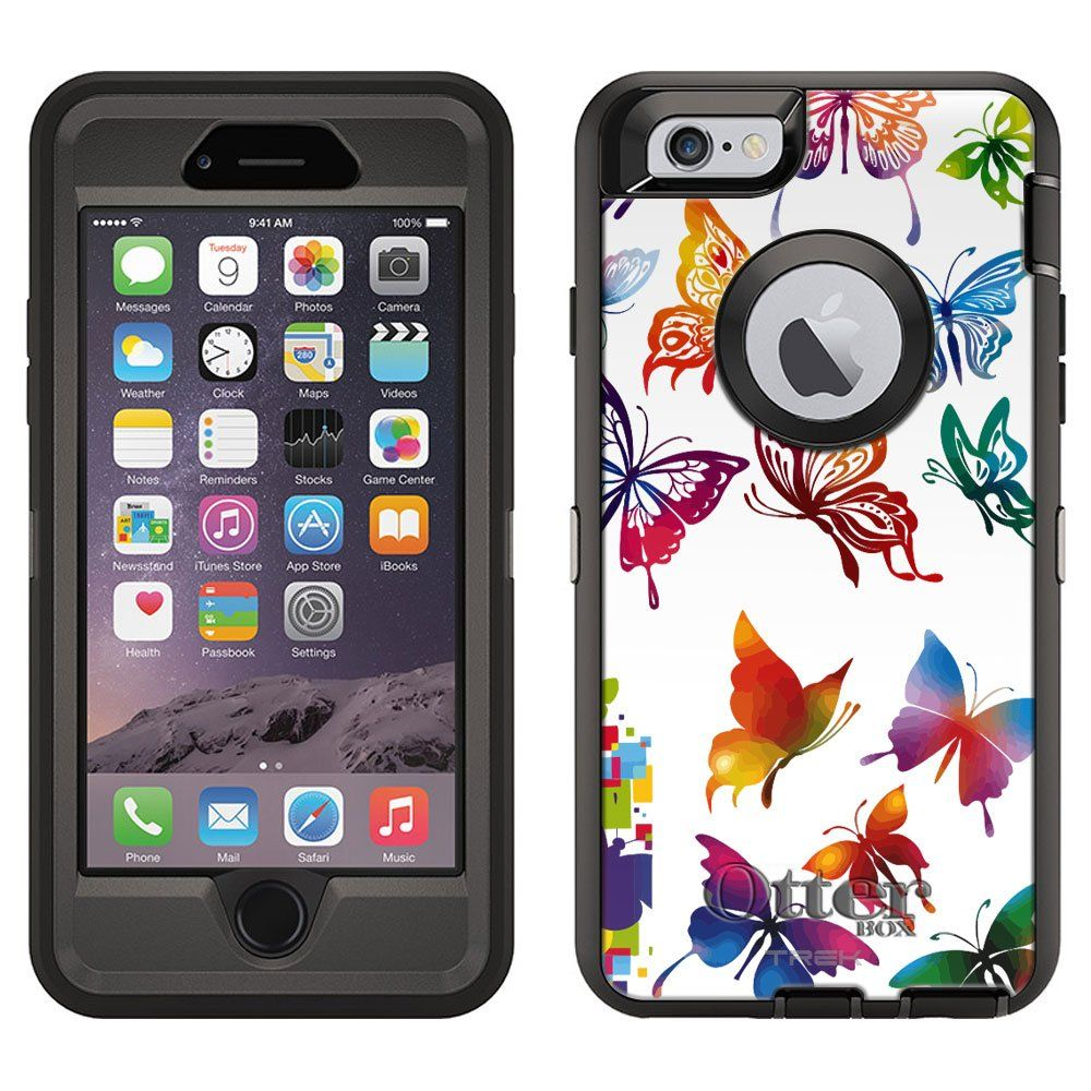 new products 518c5 0fc28 Amazon.com: OtterBox Defender Case for Apple iPhone 6 - Colorful ...