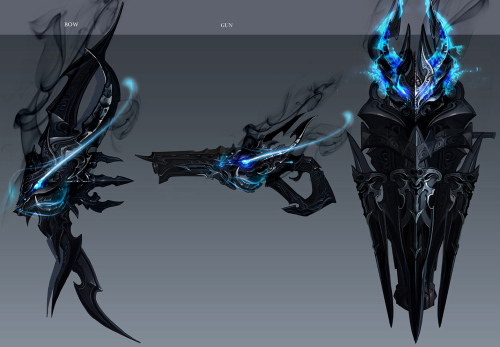 Beritra Weapon's Concept Art ~