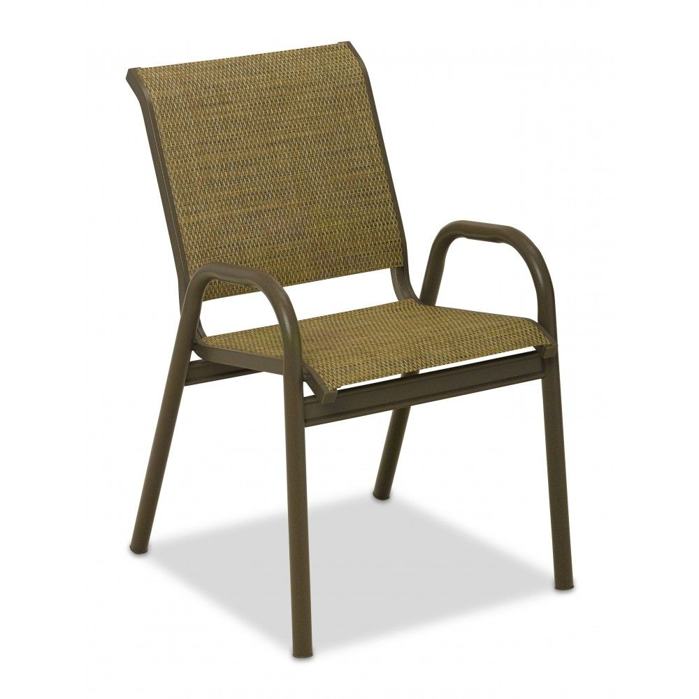 Patio Furniture Sling Replacement San Diego: Telescope Casual Reliance Contract Sling Stacking Bistro