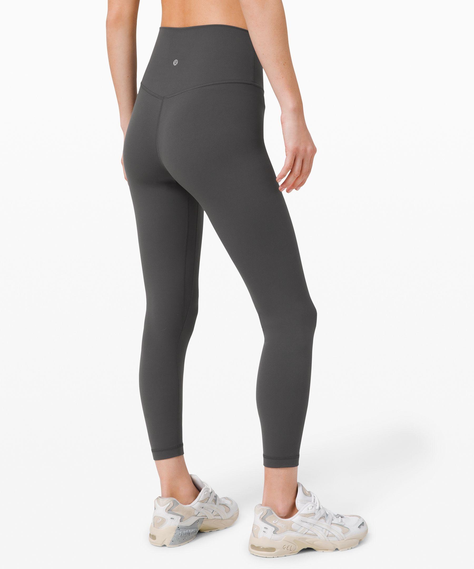 "lululemon Women's Align Pant II 25"", Graphite Grey, Size 6"