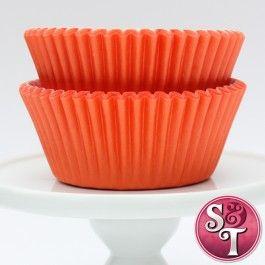Solid Cupcake Liners Orange Baking Cups Cupcake Liners Orange