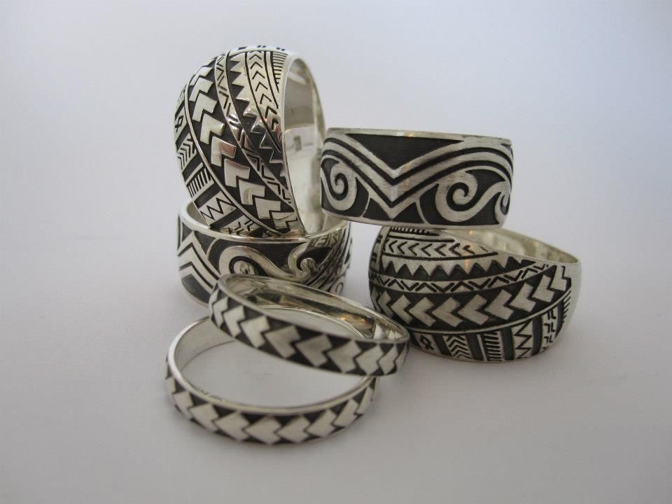Pacific Love Affair ring collection NEW ZEALAND MAORI ART