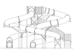 Contour Drawings Water Slides Google Search Water Slides Coloring Pages Coaster Projects