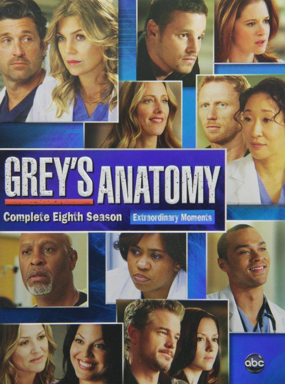 Greys Anatomy Season 8 Dvd Set Anatomy Grays Anatomy And Gray