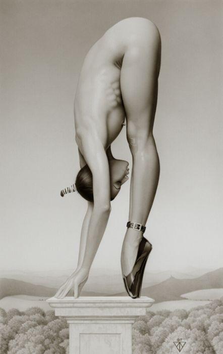 Commit nude acrobatics