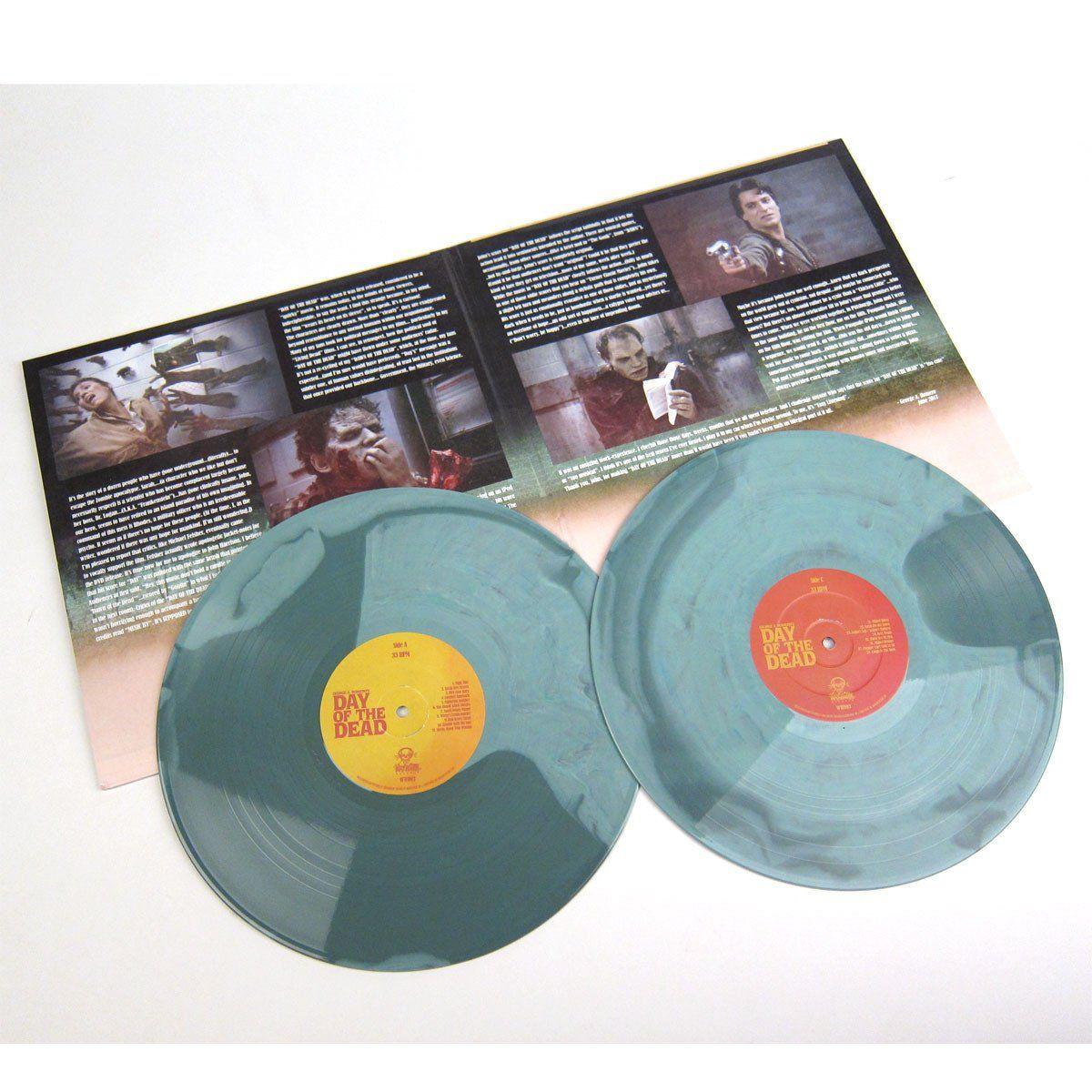 John Harrison George A Romero S Day Of The Dead Ost 180g Colored Vinyl Vinyl 2lp Vinyl Album Art John Harrison Vinyl