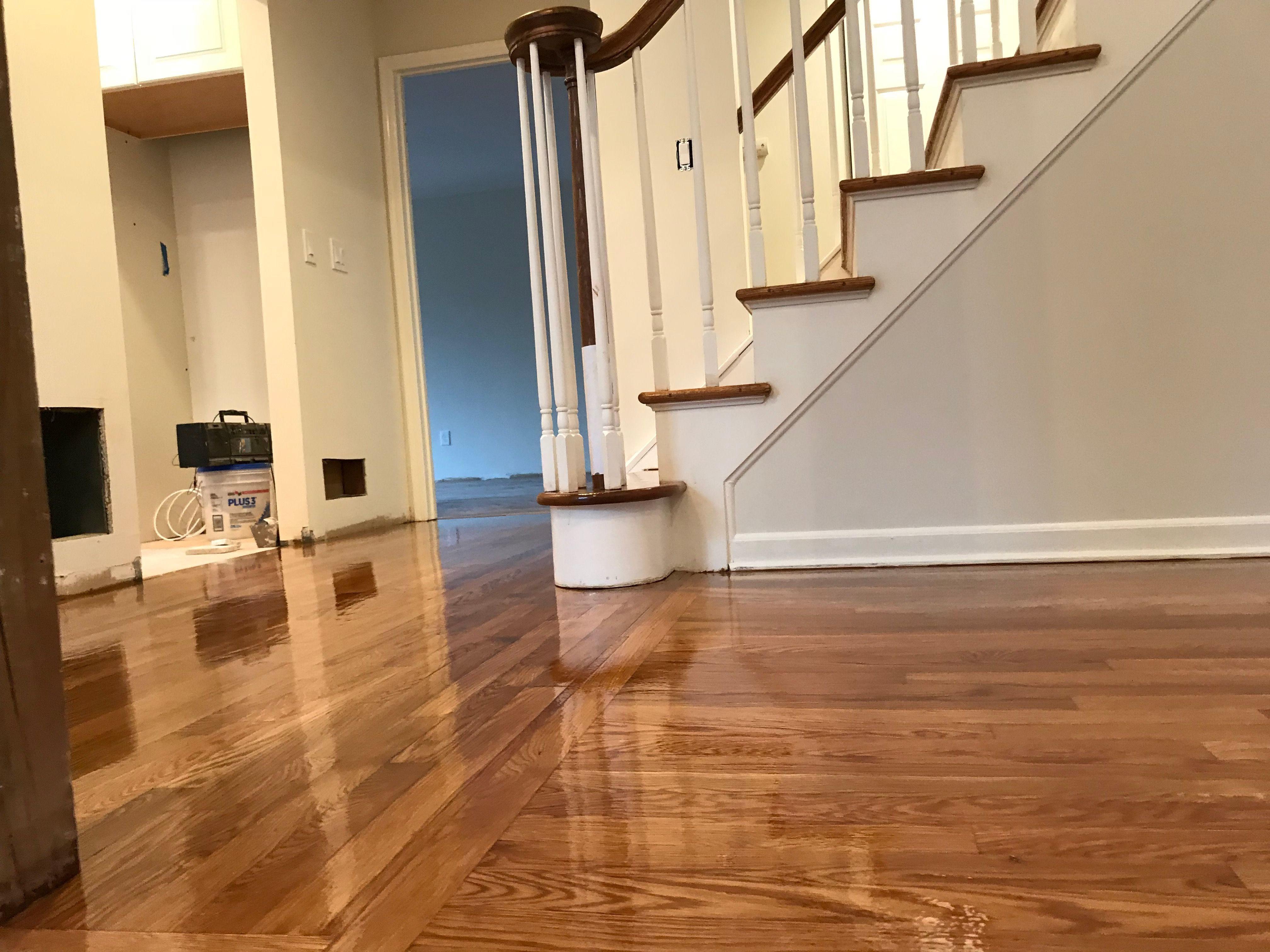 Let us know how can we help you refinishing hardwood