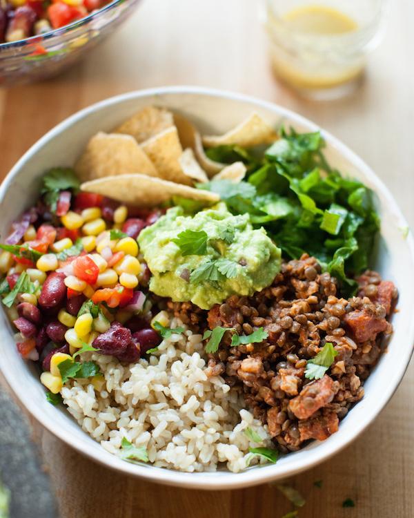 Ultimate Vegan Burrito Bowl Sweet Potato Soul By Jenne Claiborne Recipe In 2020 Vegan Burrito Bowls Vegan Burrito Whole Food Recipes