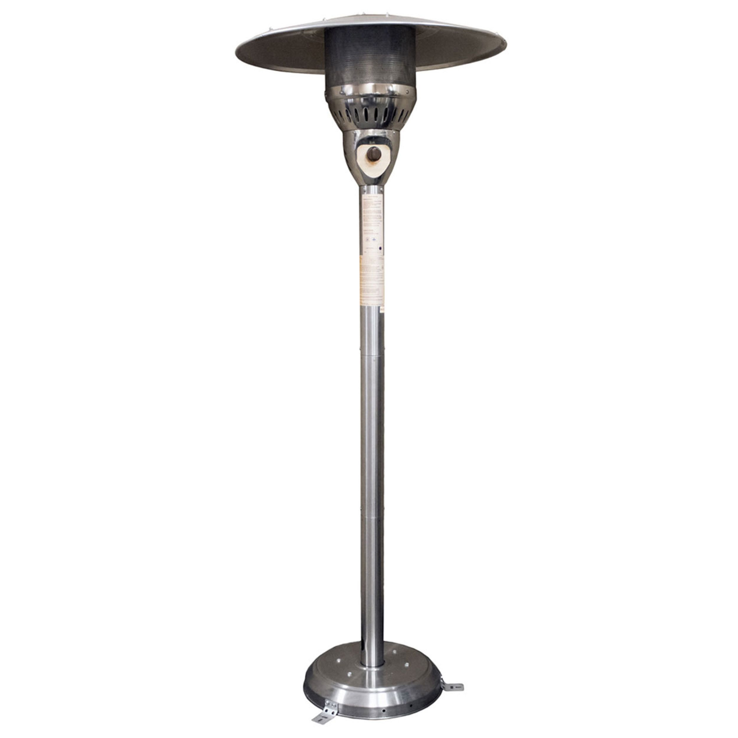 Hiland AZ Patio Stainless Steel 85 Inch Gas Outdoor Patio Heater