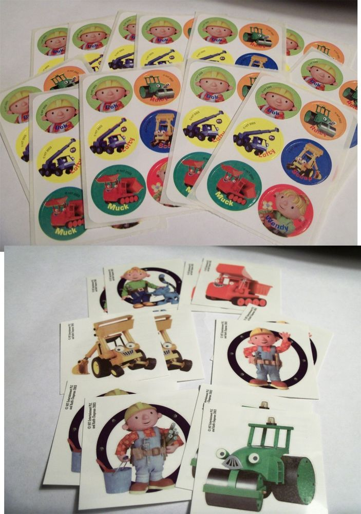 Bob The Builder Wendy Stickers Amp Tattoos Construction Tools White  Wallpaper Border Wall Sticker Outlet Part 68