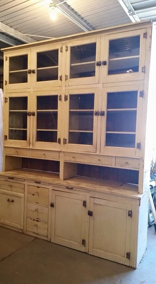 Vintage Pantry Cupboard. This Could Be The Whole Kitchen, Just Add  Appliances!