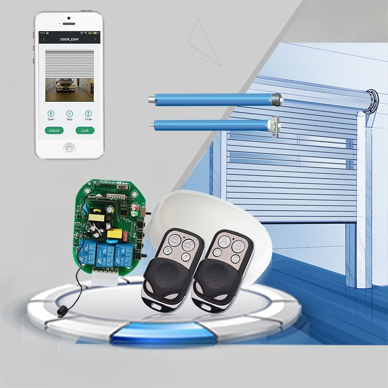 Wifi Smart Receiver Yet863 Wfr Support Rf Remote Control Wifi App And It Is Design For Roller Shutter And Rf Remote Roller Shutters Shutters Rolling Shutter