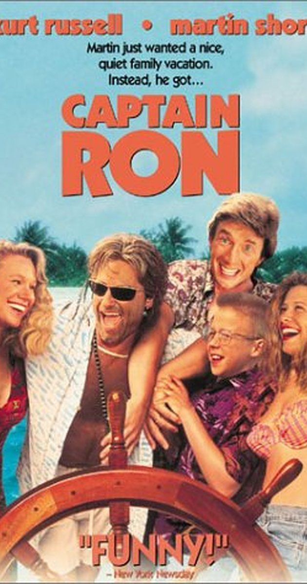 Directed by Thom Eberhardt.  With Kurt Russell, Martin Short, Mary Kay Place, Benjamin Salisbury. A family in Chicago inherits the yacht formerly owned by Clark Gable. They decide to sail it from the island of Ste. Pomme de Terre to Miami, and they sail with the assistance of Captain Ron and their lives will never be the same again.