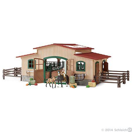 Item Page Schleich Toys Animals Website Horse Stables Stables Schleich Horses Stable