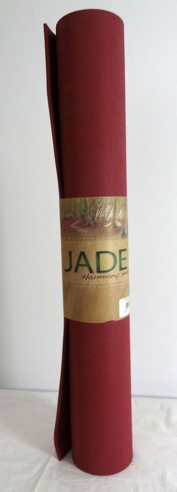 Jade Harmony Eco Friendly Yoga Mat 24 X 68 Brand New Raspberry Ebay Eco Friendly Yoga Mats Ebay Slow Life