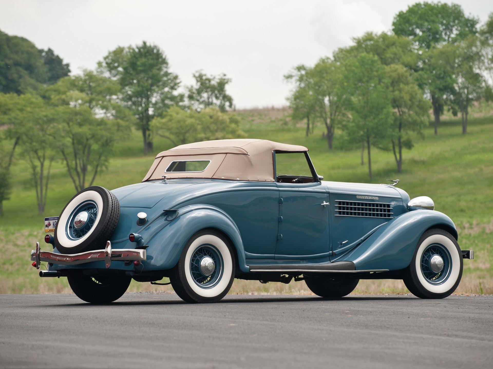 1936 Auburn 852SC Cabriolet Classic cars, Cabriolets, Auburn