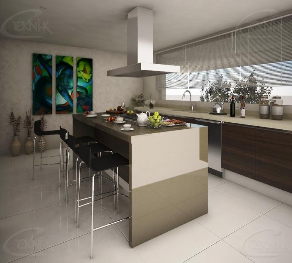 el dise o de esta cocina en herradura remata con una isla