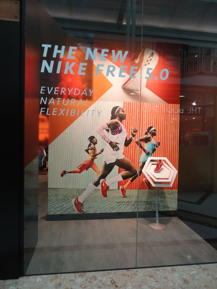 Image result for sports shop window displays Shoe