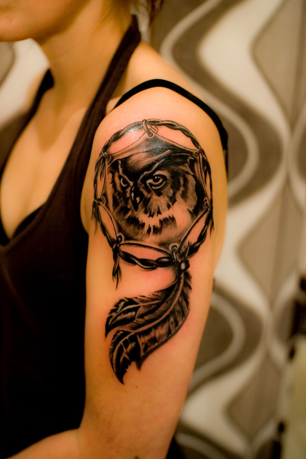 20 Owl Love Tattoo Pictures And Ideas On Weric