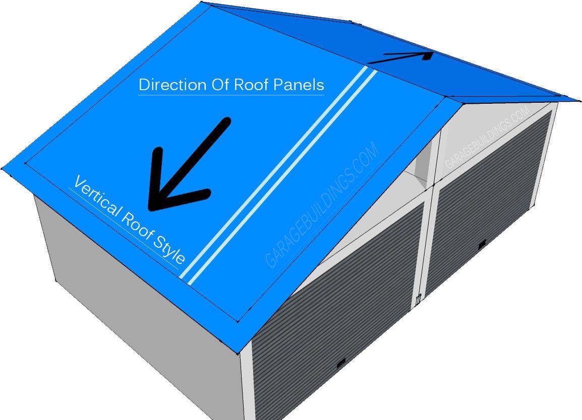 Best Vertical Roof Style Garage Metal Garage Kits Metal 400 x 300