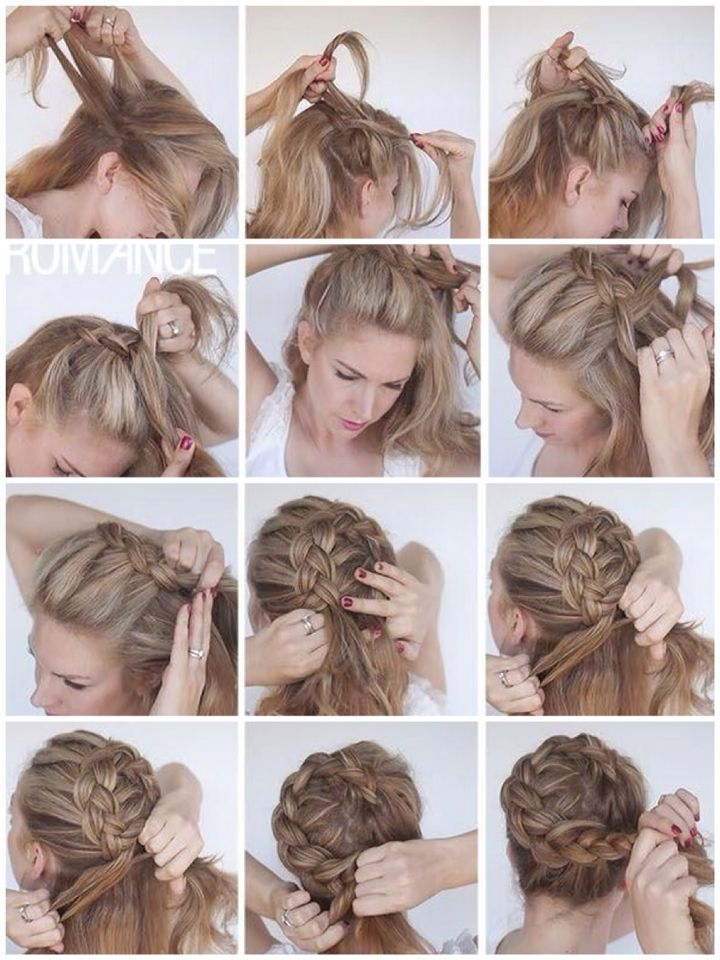 Dutch Crown Braid Hair Styles Girl Hairstyles Cute Hairstyles