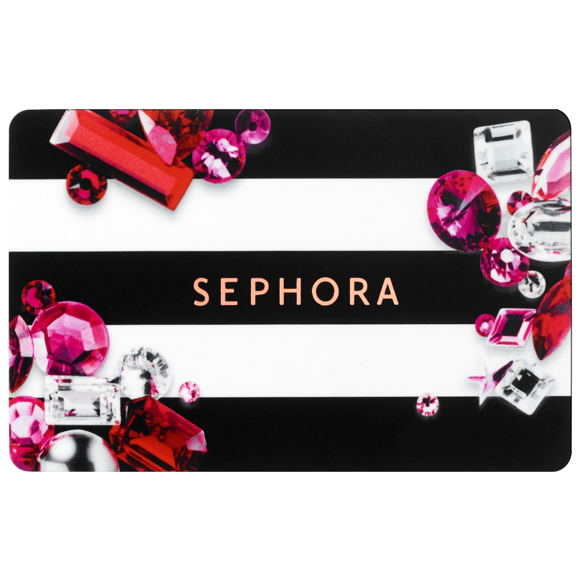 What To Give The Sephora Gift Card It Comes In A Sleek Black