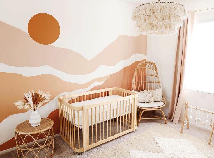 Photo of CREATIVE DIY IDEAS FOR KIDS' BEDROOMS – Kids Interiors in 2020 | Girl nursery room, Nursery baby roo