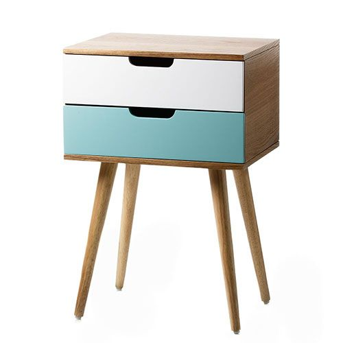 louis 2 drawer side table mint | kids' rooms | pinterest | drawers