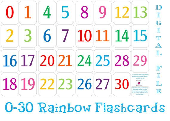 It is an image of Free Printable Numbers 1-30 regarding preschooler