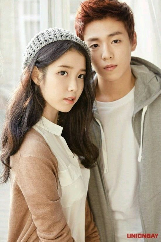 IU and Lee Hyun Woo for Unionbay Spring/Summer 2015 Ad