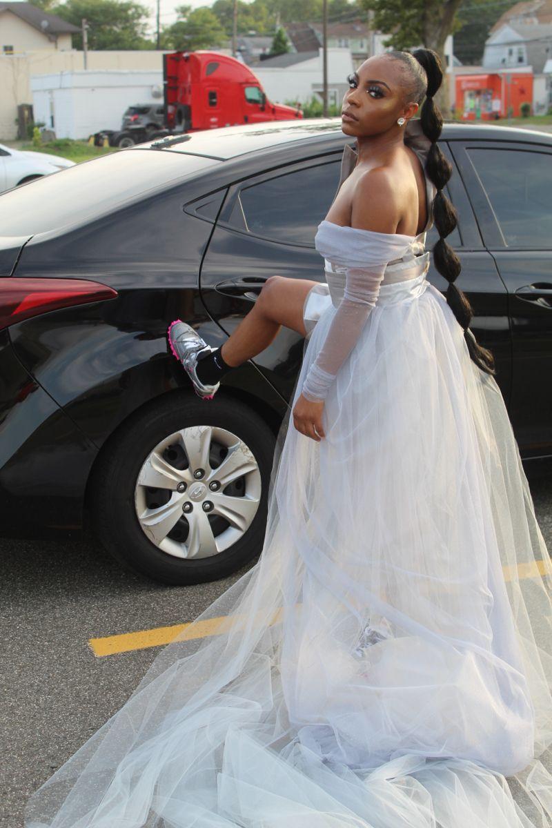 Short Wedding Dress And Converse Wedding Dresses Short Wedding Dress Tea Length Wedding Dress [ 1136 x 1136 Pixel ]