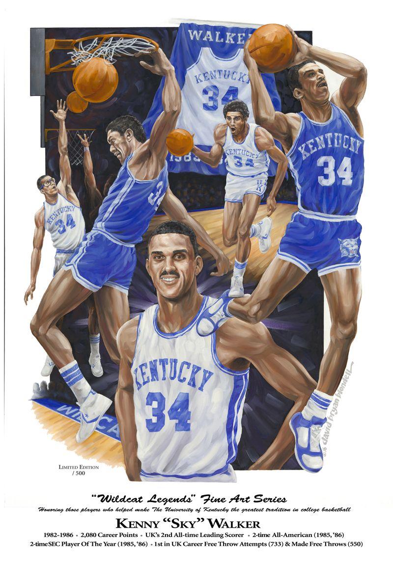 KENNY WALKER FINAL web Uk wildcats basketball, Kentucky