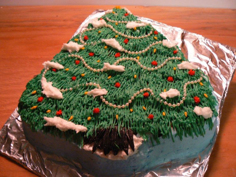 Best Christmas Tree Cake Picture Christmas Tree Cake Tree Cakes Christmas Cake Decorations