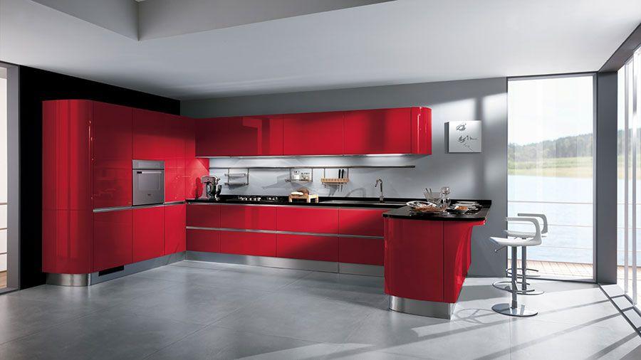 Le Più Belle Cucine ad Angolo Moderne delle Migliori Marche | Cucina ...