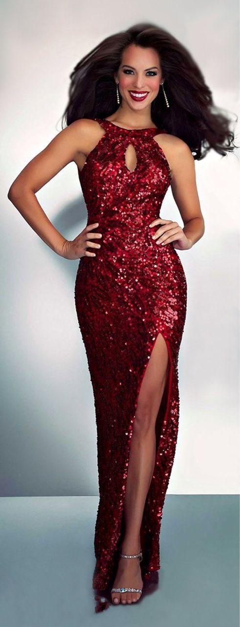 Mac Duggal. Sparkling Gown.