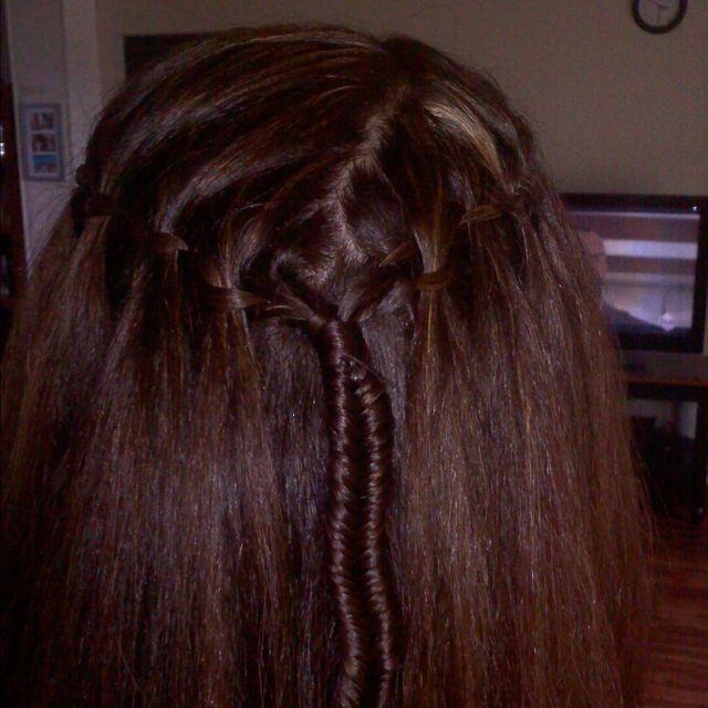 Kym's hair!