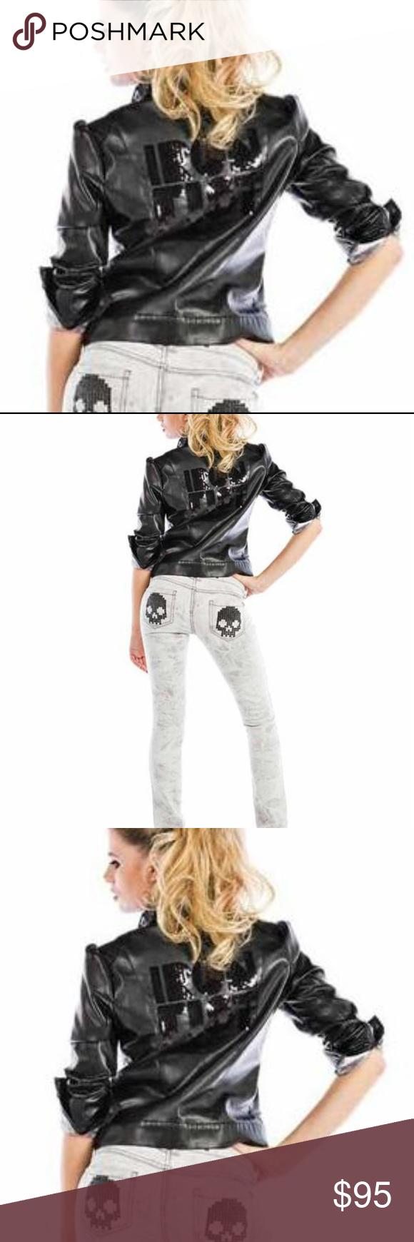 Iron Fist Ruff Rider Jacket Goth Rockabilly Boutique
