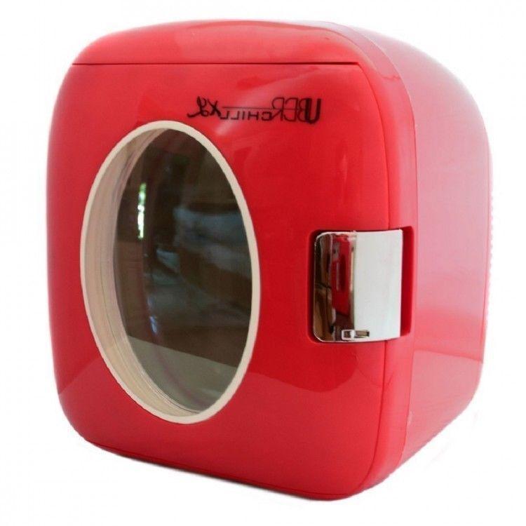 Compact Mini Fridge Refrigerator Small Portable Warm Dorm Red Retro Countertop Uberapplinace Small Refrigerator Mini Fridge Cool Mini Fridge