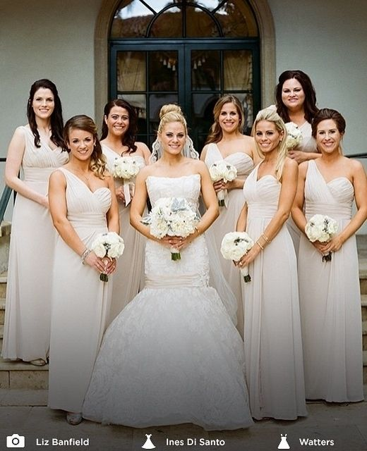 French Chic Bridesmaid Dresses