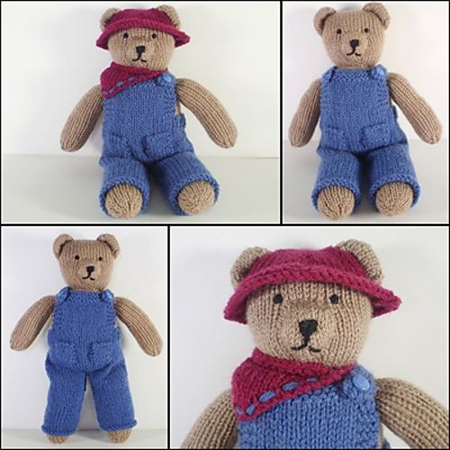 These knitted clothes were designed to fit my Teddy Bear ...