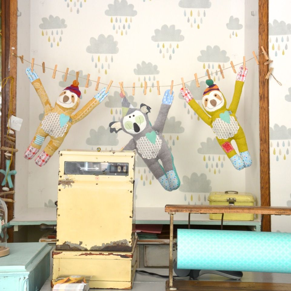 Herzenstreu kinderzimmer kinderm bel deko interiors vintagestyle vintage retro kusch - Retro kinderzimmer ...
