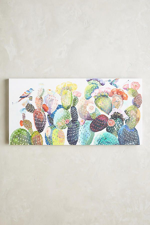 Cactus Wall Art | Anthropologie