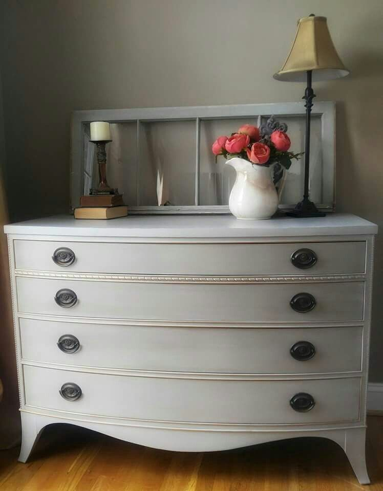 Best Annie Sloan French Linen With Paris Grey Washwith 640 x 480